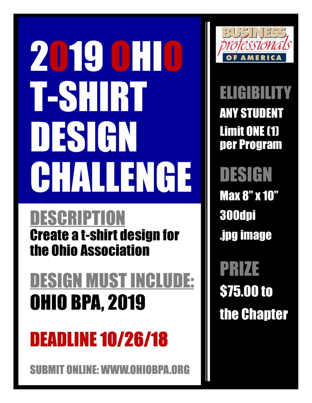 2019 TShirt Design Competition
